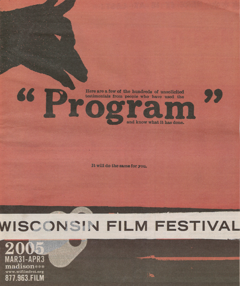 Image of 2005 WI Film Festival Guide